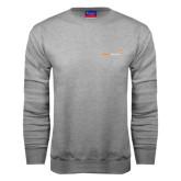 Grey Fleece Crew-