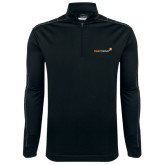Nike Golf Dri Fit 1/2 Zip Black/Grey Pullover-