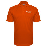 Orange Textured Saddle Shoulder Polo-Ambit Energy Japan