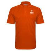 Orange Textured Saddle Shoulder Polo-Ambit Energy Canada