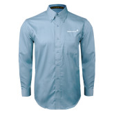 Light Blue Twill Button Down Long Sleeve-