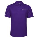 Adidas Climalite Purple Game Time Polo-Ambit Energy