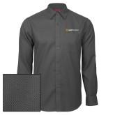 Red House Dark Charcoal Diamond Dobby Long Sleeve Shirt-Ambit Energy