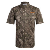 Camo Short Sleeve Performance Fishing Shirt-