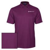Purple Performance Fine Jacquard Polo-Ambit Energy