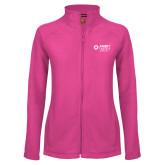 Ladies Fleece Full Zip Raspberry Jacket-Ambit Energy Japan