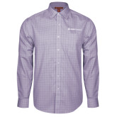 Red House Purple Plaid Long Sleeve Shirt-Ambit Energy