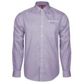 Red House Purple Plaid Long Sleeve Shirt-Ambit Energy