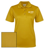 Ladies Gold Dry Mesh Polo-Ambit Energy Japan