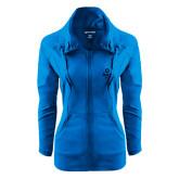 Ladies Sport Wick Stretch Full Zip Sapphire Jacket-