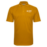 Gold Textured Saddle Shoulder Polo-Ambit Energy Japan