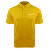 Gold Dry Mesh Polo-