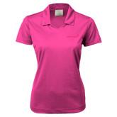 Ladies Nike Golf Dri Fit Fuchsia Micro Pique Polo-