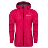 Ladies Dark Fuchsia Waterproof Jacket-