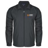 Full Zip Charcoal Wind Jacket-Ambit Energy