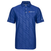 Nike Dri Fit Royal Embossed Polo-Ambit Energy