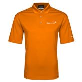Nike Golf Dri Fit Orange Micro Pique Polo-