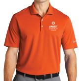 Nike Golf Dri Fit Orange Micro Pique Polo-Ambit Energy Canada