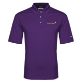 Nike Golf Dri Fit Purple Micro Pique Polo-