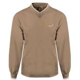 Khaki Executive Windshirt-
