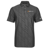 Nike Dri Fit Charcoal Embossed Polo-Ambit Energy