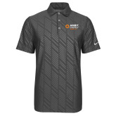 Nike Dri Fit Charcoal Embossed Polo-Ambit Energy Japan