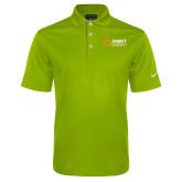 Nike Golf Dri Fit Vibrant Green Micro Pique Polo-Ambit Energy Japan