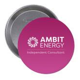 2.25 inch Round Button-Independent Consultant Purple Button