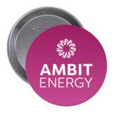 2.25 inch Round Button-Ambit Energy Purple Button