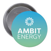 2.25 inch Round Button-Ambit Energy Teal Button