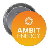 2.25 inch Round Button-Ambit Energy Orange Button