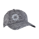 PosiCharge Black/White Electric Heather Snapback Hat-Spark
