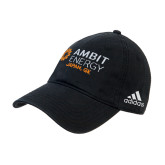 Adidas Black Slouch Unstructured Low Profile Hat-Ambit Energy Japan