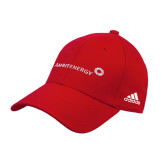 Adidas Red Structured Adjustable Hat-