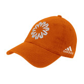 Adidas Orange Slouch Unstructured Low Profile Hat-Spark