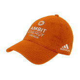 Adidas Orange Slouch Unstructured Low Profile Hat-Ambit Energy Canada
