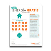 Ambit Free Energy Flyer, Spanish-