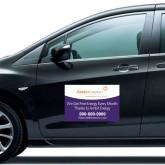Full Color 12 x 18 Car Door Magnets 2/ set-We Get Free Energy.. in Purple