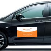 Full Color 12 x 24 Car Door Magnets 2/ set-We Get Free Energy..