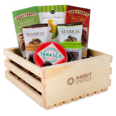 Wooden Gift Crate-Ambit Energy  Engraved
