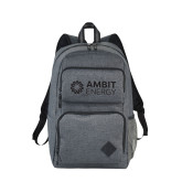 Graphite Deluxe 15 inch Computer Backpack-Ambit Energy