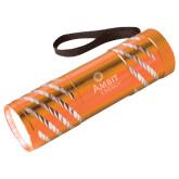 Astro Orange Flashlight-Engraved