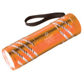 Astro Orange Flashlight-Ambit Energy Japan  Engraved
