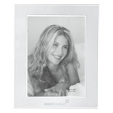 Silver Two Tone 8 x 10 Photo Frame-Engraved