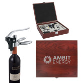 Executive Wine Collectors Set-Ambit Energy  Engraved