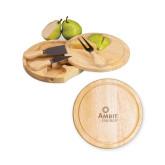7.5 Inch Brie Circular Cutting Board Set-Engraved