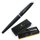 Cross ATX Basalt Black Rollerball Pen-Ambit Energy Japan  Engraved