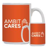 Full Color White Mug 15oz-Ambit Cares
