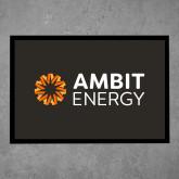 Full Color Indoor Floor Mat-Ambit Energy