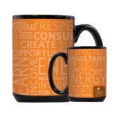 Full Color Black Mug 15oz-Independent Consultant